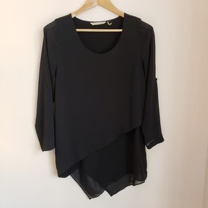 Soft Surroundings Mayfair Tunic Black